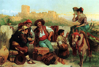 Spaniards - Gypsies of Granada