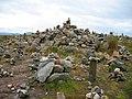 Rock art at the Loch Loyne viewpoint - geograph.org.uk - 516145.jpg