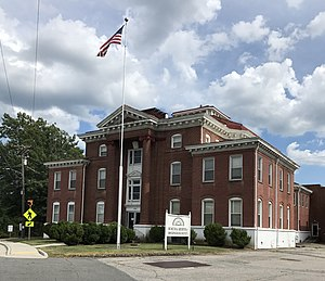 Rockingham County Courthouse in Wentworth