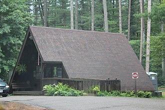 Rocky Arbor State Park - Image: Rocky Arbor State Park Ranger Station