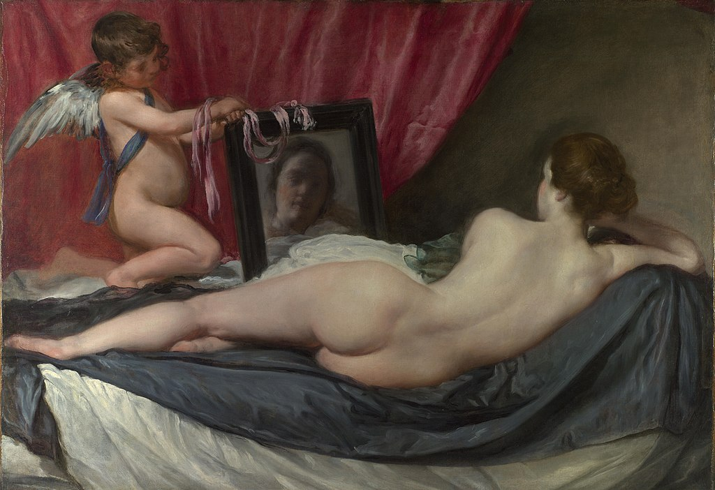 """Venus at her Mirror"" by Diego Velazquez"