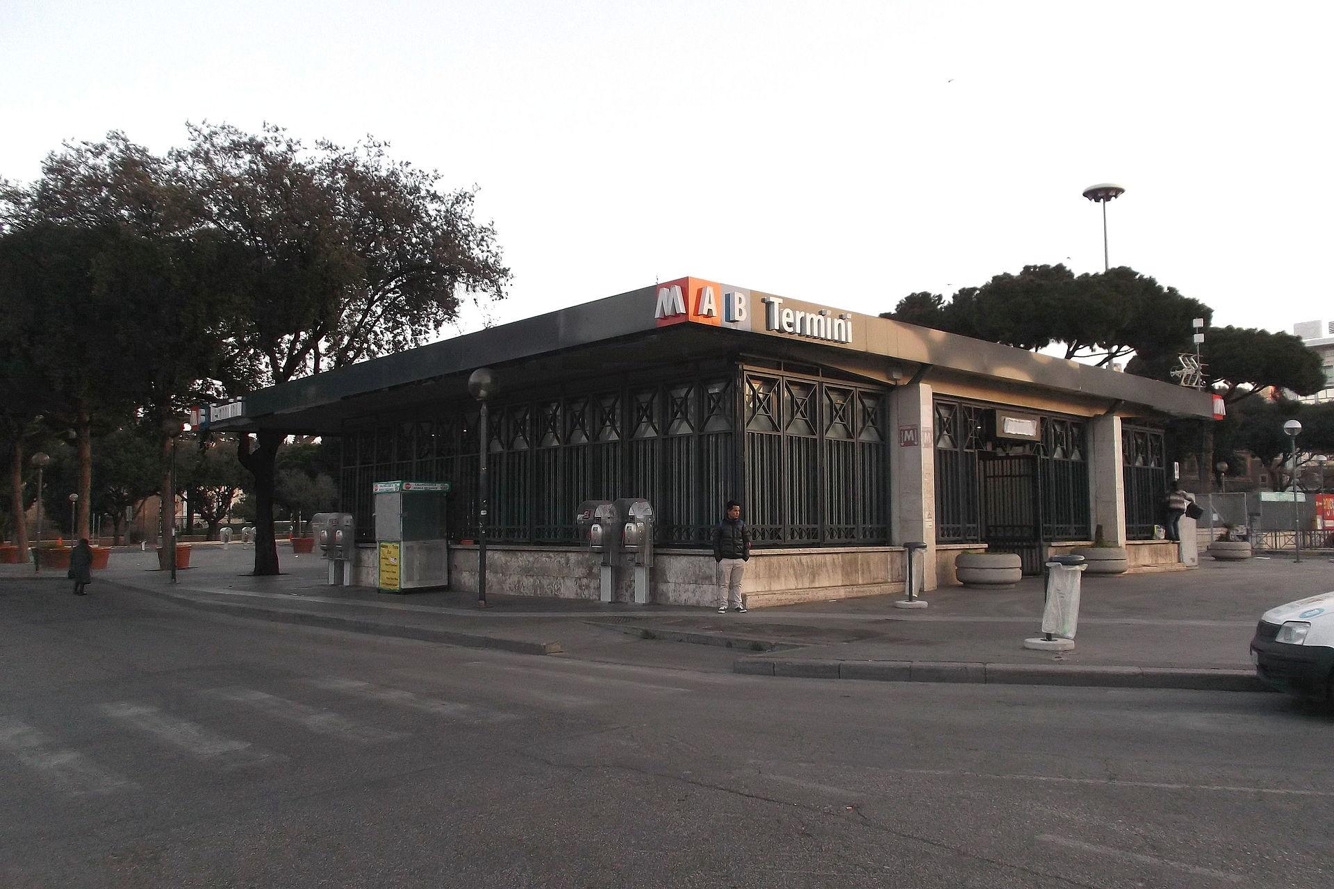 Termini metropolitana di roma wikipedia for Affitto ufficio roma stazione termini
