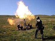 Romanian 120mm mortar