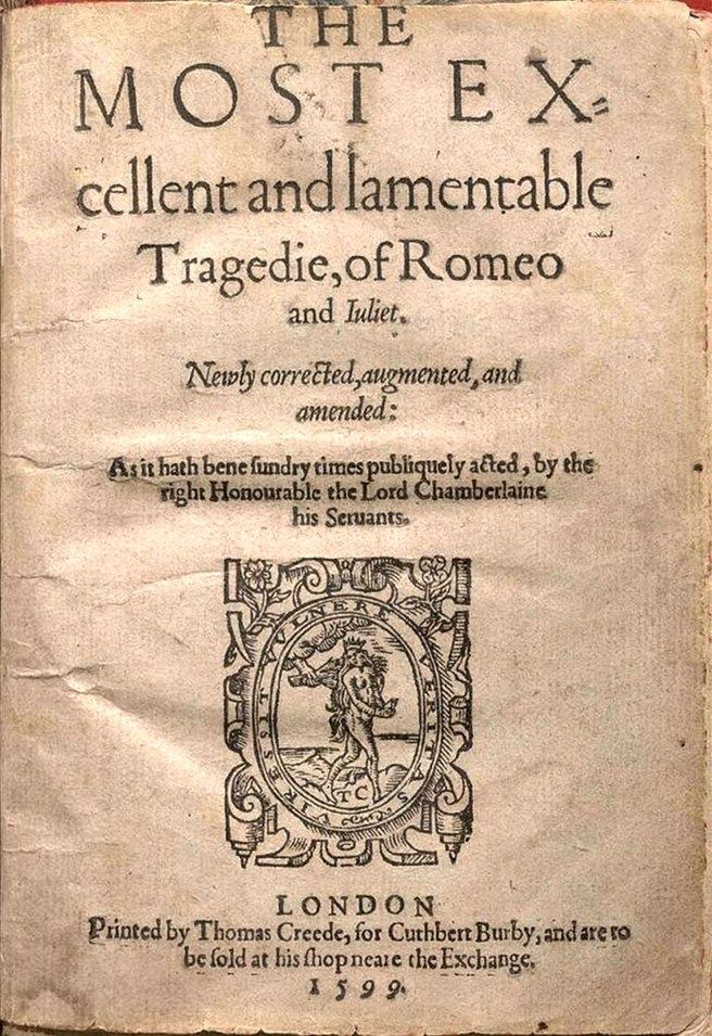 Romeo and Juliet Q2 Title Page-2