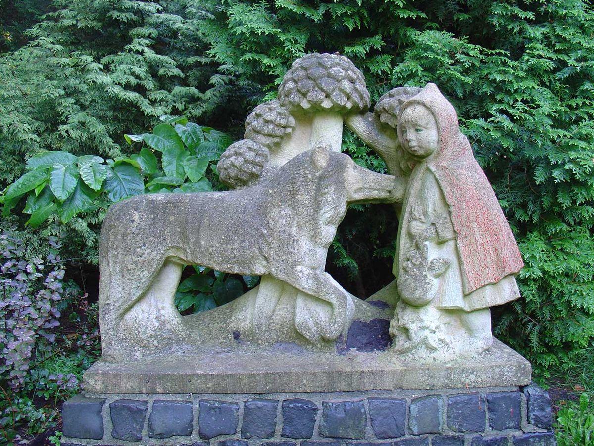 Hedendaags Bestand:Roodkapje en de wolf Julianapark Stadskanaal Kees de KG-12