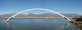 Theodore Roosevelt Lake - Roosevelt Lake Bridge