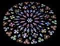 Rose Window Church of Santa Maria del Pi Barcelona (5832669706).jpg