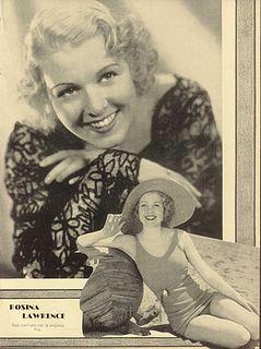 Rosina Lawrence American actress