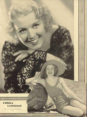 Rosina Lawrence - Lawrence in 1935