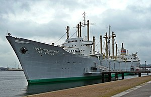 Frieden (museum ship) - Image: Rostock Traditionsschiff Typ Frieden (01)
