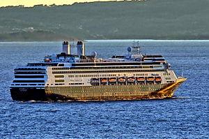 MS Rotterdam -  MS Rotterdam departing Split, Croatia.