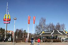 Rovaniemi Mcdonalds
