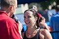 Rowdy Gaines interviews Audrey Lacroix (8982590925).jpg