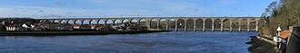 Royal Border Bridge - Image: Royal Border Bridge 2009 01 18