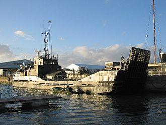 Royal Logistic Corps - Royal Logistic Corps landing craft, the RCL Arezzo