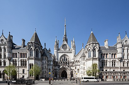 How To Get To Royal Courts Of Justice In Temple By Bus