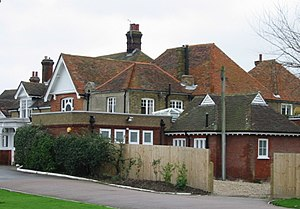 Royal St George's Golf Club - Clubhouse in 2007
