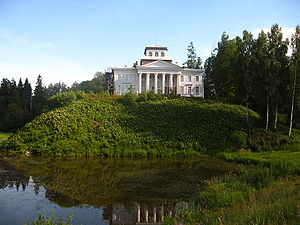 Speak, Memory - Nabokov inherited the Rozhdestveno mansion from his uncle in 1916