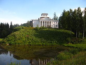 Speak, Memory - Nabokov inherited the Rozhdestveno mansion from his uncle in 1916
