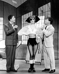 Rudy Vallee How to Succeed in Business Broadway 1961.JPG