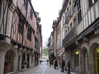 Bourgogne-Franche-Comté - Image: Rue Verrerie 005