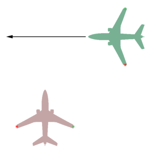 Taxiing - Aircraft on the right hand side has the right-of-way during taxiing.