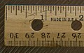"Ruler - Wooden; Why no ""Inches"" label? (2606645766).jpg"