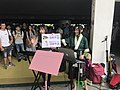 Ruru Lin, Kathie Huang and visitors at FF34 20190727b.jpg