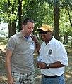 Rushern Baker 20120630 325 Exec Rushern Baker (yellow hat) (7507217170).jpg