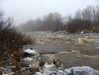 Vantaa (river) - Image: Ruutinkoski