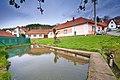 Rybníček v obci, Jabloňany, okres Blansko.jpg