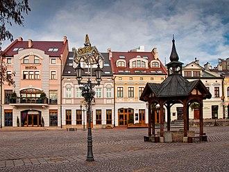 Rzeszów - Market Square in Rzeszów