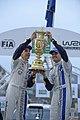 Sébastien Ogier & Julien Ingrassia wins the 2013 Wales Rally GB 2013 001.jpg