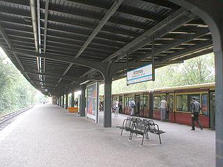 Berlin-Wittenau station railway station in Berlin, Germany