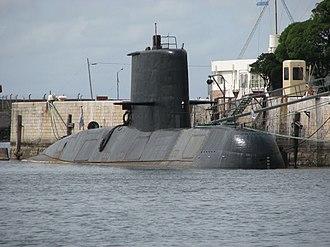 TR-1700-class submarine - Image: S42ARASan Juan
