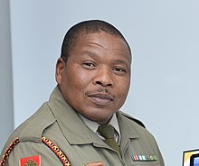 Senior Chief Warrant officer Ncedakele Mtshatsheni