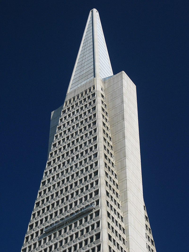SF Transamerica top CA