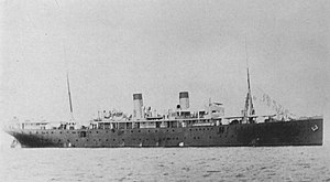 Asian and Pacific theatre of World War I - SMS Cormoran