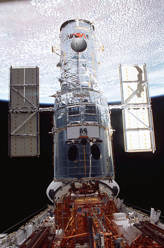 STS-109 - Image: STS 109 Repaired and Reconfigured Hubble