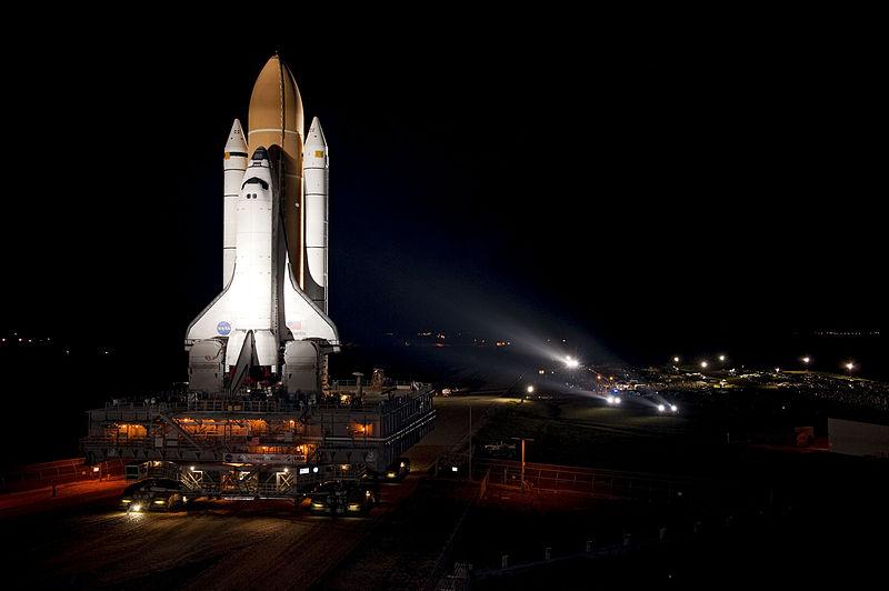 STS-135 Atlantis rollout (NASA)