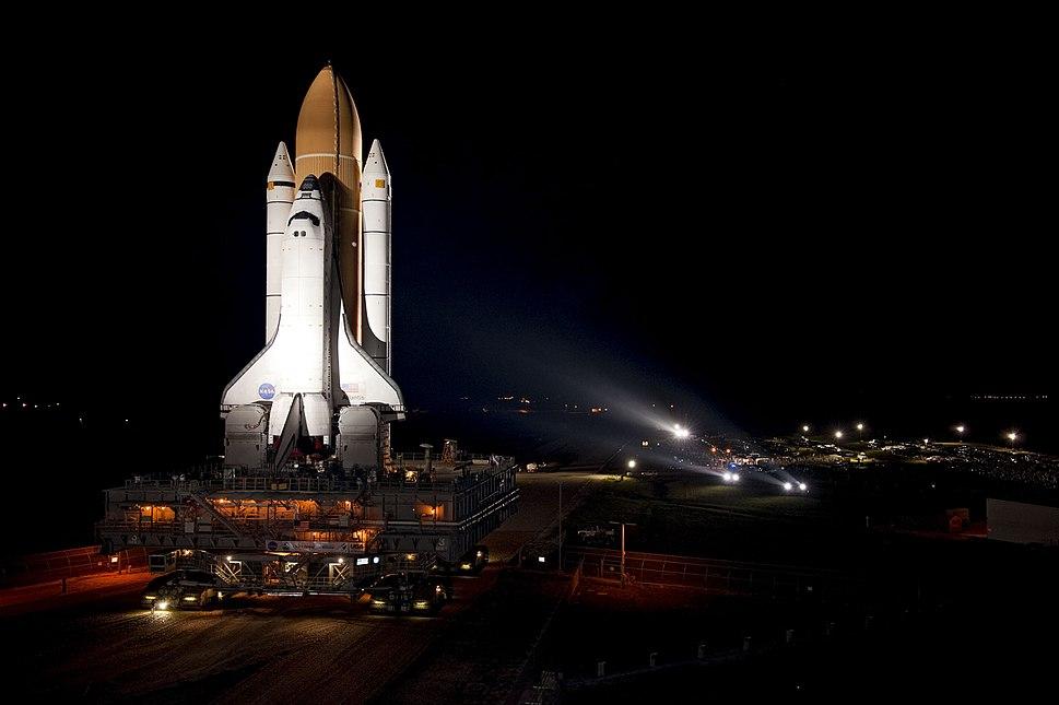 STS-135 Atlantis rollout 1