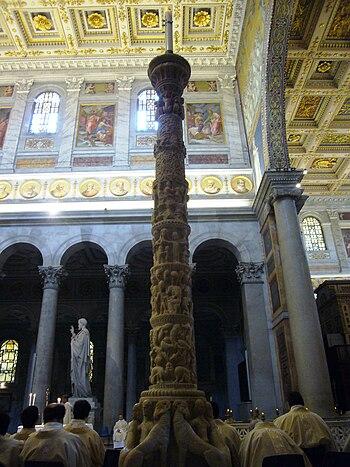 Italiano: Roma, basilica di san Paolo fuori le...