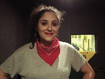 Sabrina Martínez en el programa Hola Mabel 01-11-2018.jpg