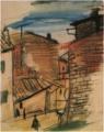 SaekiYūzō-1926-A Scene in Assisi.png