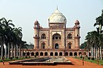 Tomb of Safdarjung (Mirza Muqim Mansur Ali Khan) with all the enclosure walls, gateways, gardens and the mosque on the eastern side of the garden.