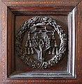 Sagrestia di san giovanni, stemma del cardinale girolamo basso della rovere sul portale.jpg
