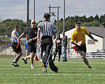 Sailors, soldiers clash in annual Misawa Army-Navy Flag Football Game. 121012-N-ZA795-131.jpg