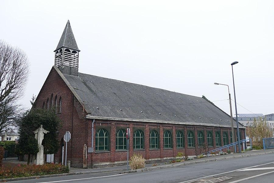 Saint-Camille's church in Saint-André-lez-Lille (Nord, Nord-Pas-de-Calais, France).