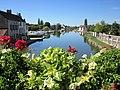 Saint-Léger-sur-Dheune - Canal et halte nautique.JPG