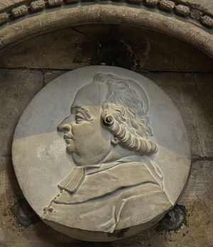 François Carli - Sculpture of Jean Marie du Lau in the Church of St. Trophime, Arles